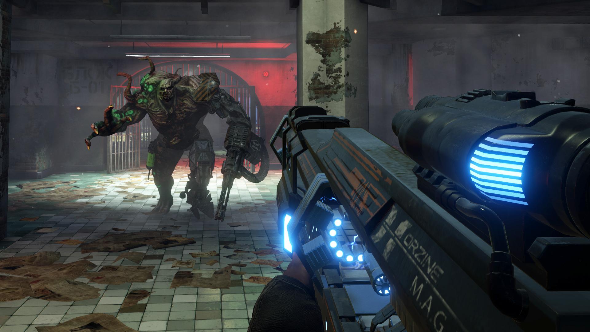 Screenshot of Killing Floor 2 server hosting