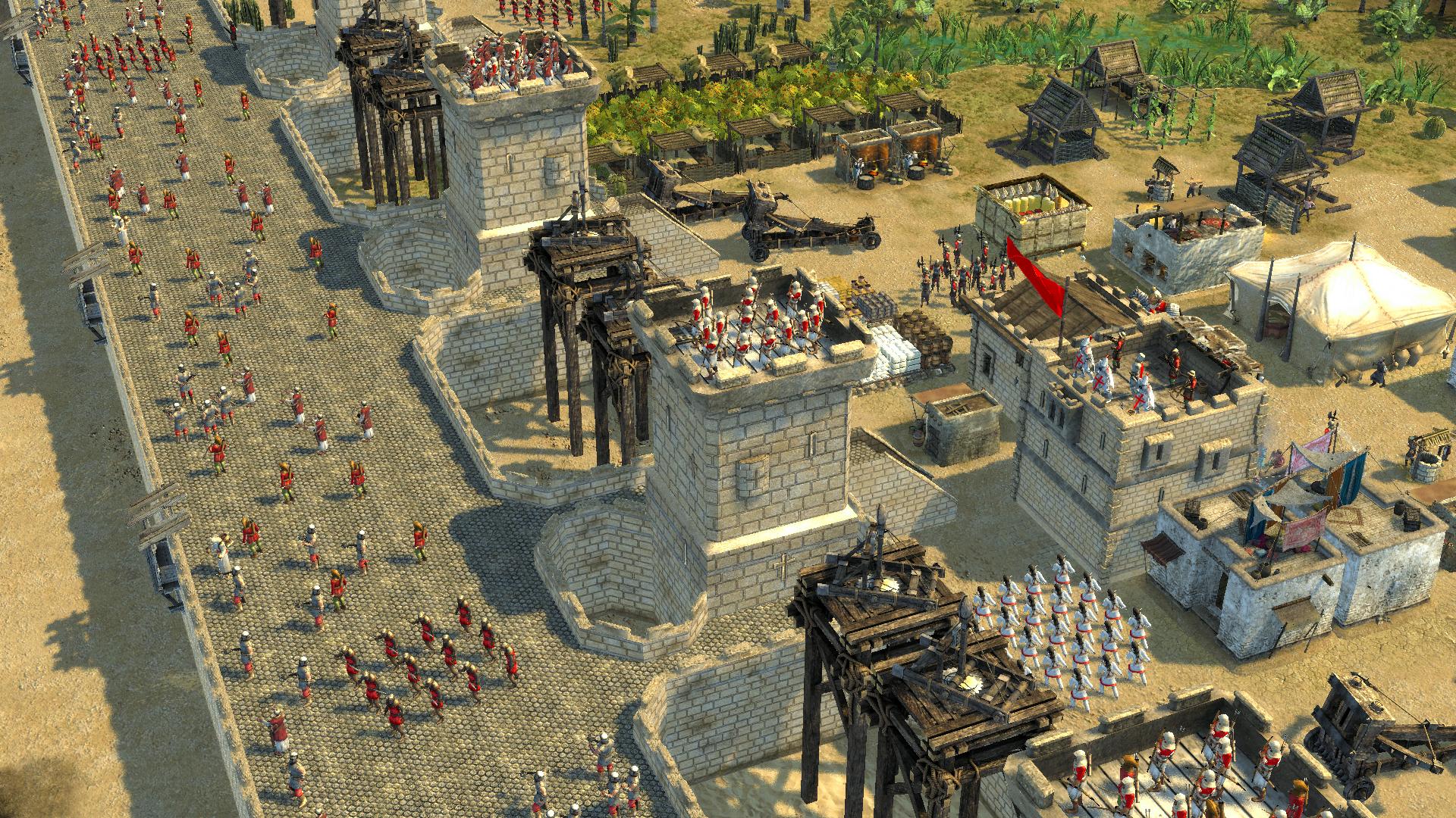 Stronghold Crusader II Special Edition Multilenguaje ESPAÑOL PC (PLAZA) + Update v1.0.19369 (FLTDOX) 5