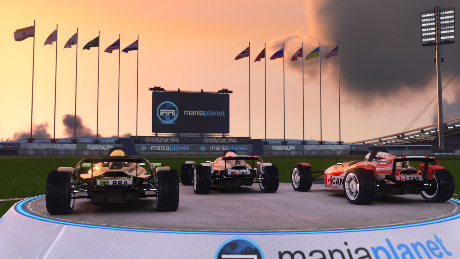 Trackmania² stadium on steam