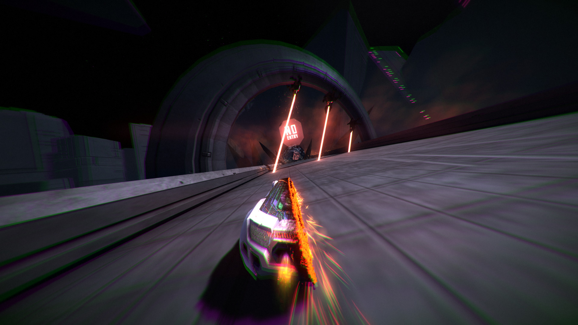 distance pc gameplay