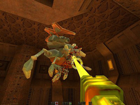 скриншот QUAKE II Mission Pack: Ground Zero 3