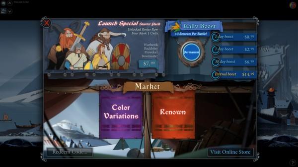 скриншот The Banner Saga: Factions - Eternal Renown Boost 1
