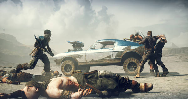 Mad Max Road Warrior - PLAZA