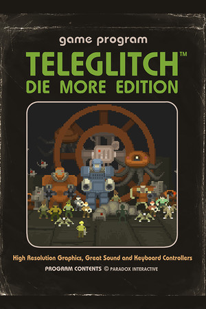 Teleglitch: Die More Edition poster image on Steam Backlog