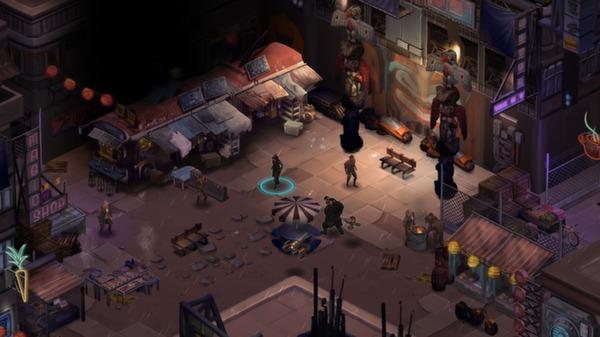 скриншот Shadowrun Returns 2