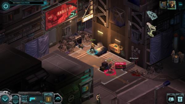 скриншот Shadowrun Returns 5