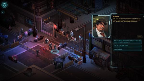 скриншот Shadowrun Returns 6