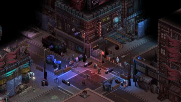 скриншот Shadowrun Returns 1