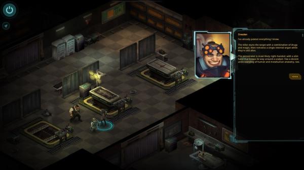 скриншот Shadowrun Returns 0
