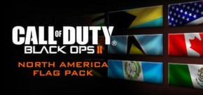 Call of Duty®: Black Ops II - North American Flags of the World Calling Card Pack