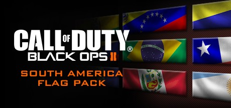 Call of Duty: Black Ops II - South American Flags of the World Calling Card Pack
