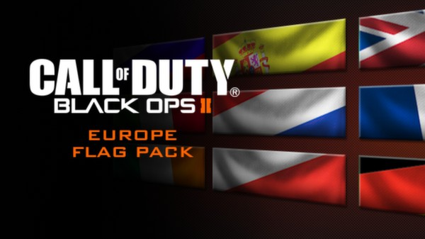 Call of Duty®: Black Ops II - European Flags of the World Calling Card Pack (DLC)