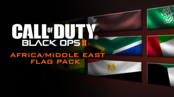 Call of Duty®: Black Ops II - African Flags of the World Calling Card Pack (DLC)