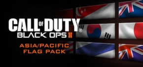 Call of Duty®: Black Ops II - Asian Flags of the World Calling Card Pack