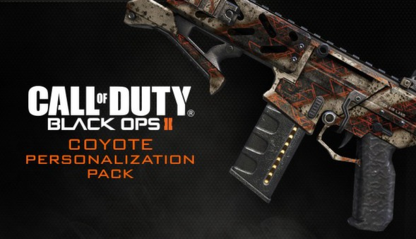 Call of Duty®: Black Ops II - Coyote Personalization Pack (DLC)