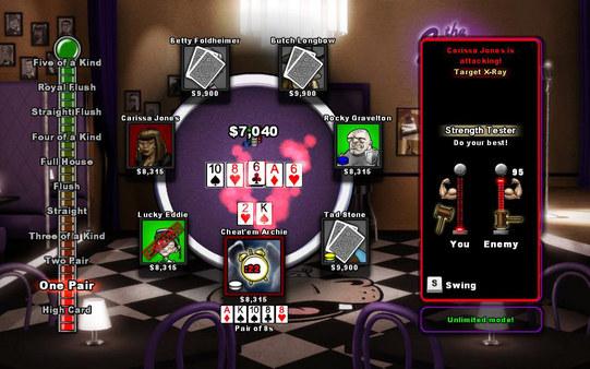 скриншот Texas Cheat'Em 1