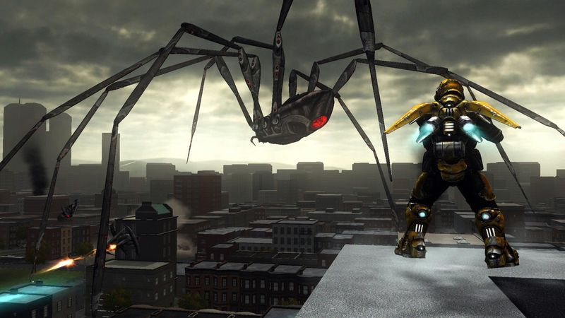 Earth Defense Force: Insect Armageddon Screenshot 2