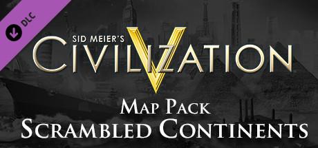 Civilization V - Scrambled Continents Map Pack