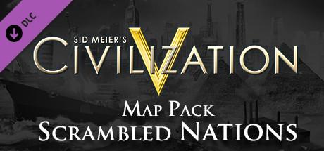 Civilization V - Scrambled Nations Map Pack