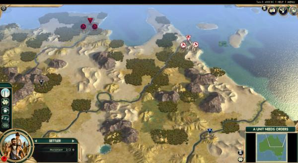 Скриншот из Civilization V - Scrambled Nations Map Pack