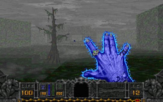 Скриншот из HeXen: Beyond Heretic