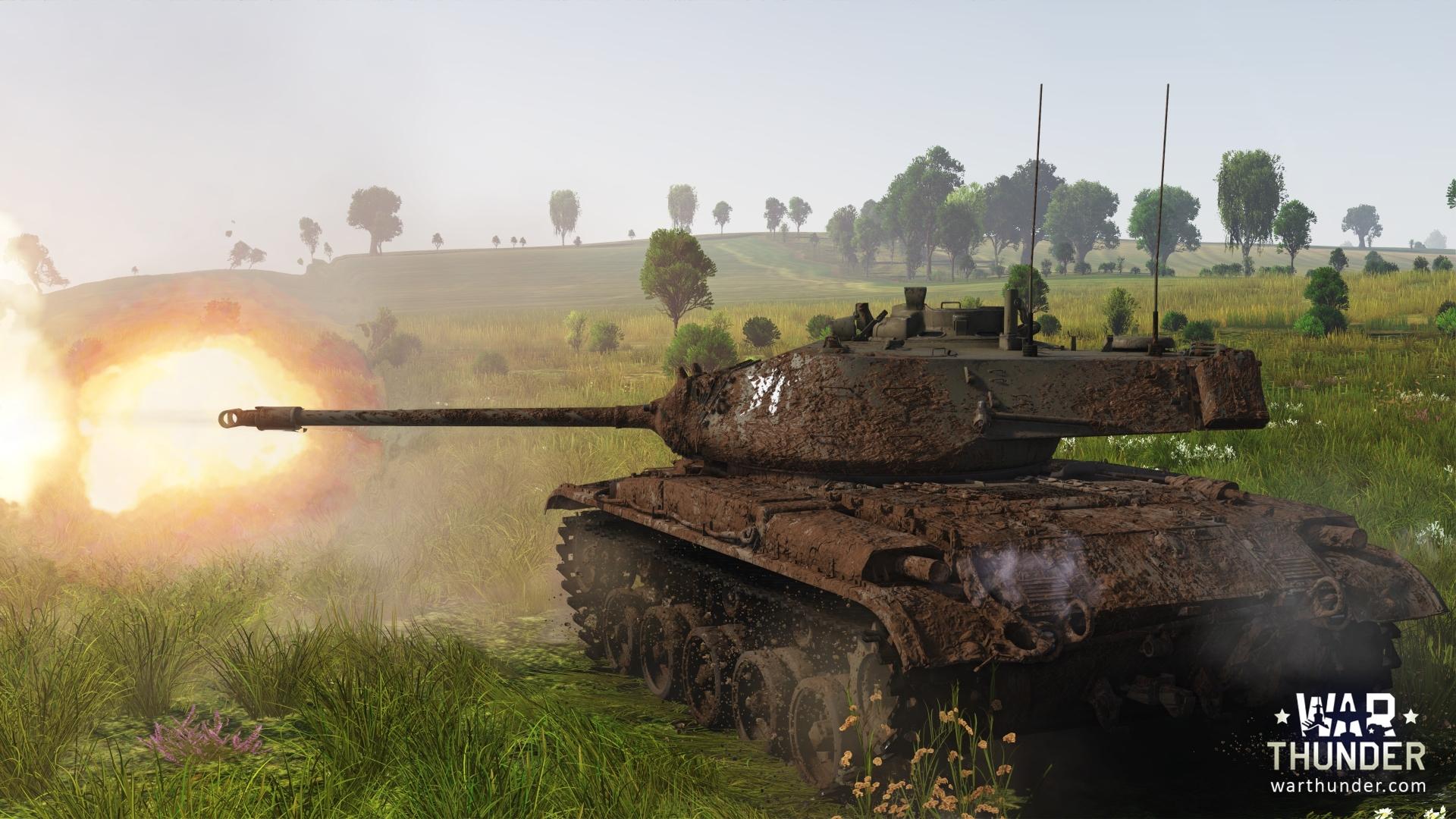 発砲する戦車のかっこいい壁紙