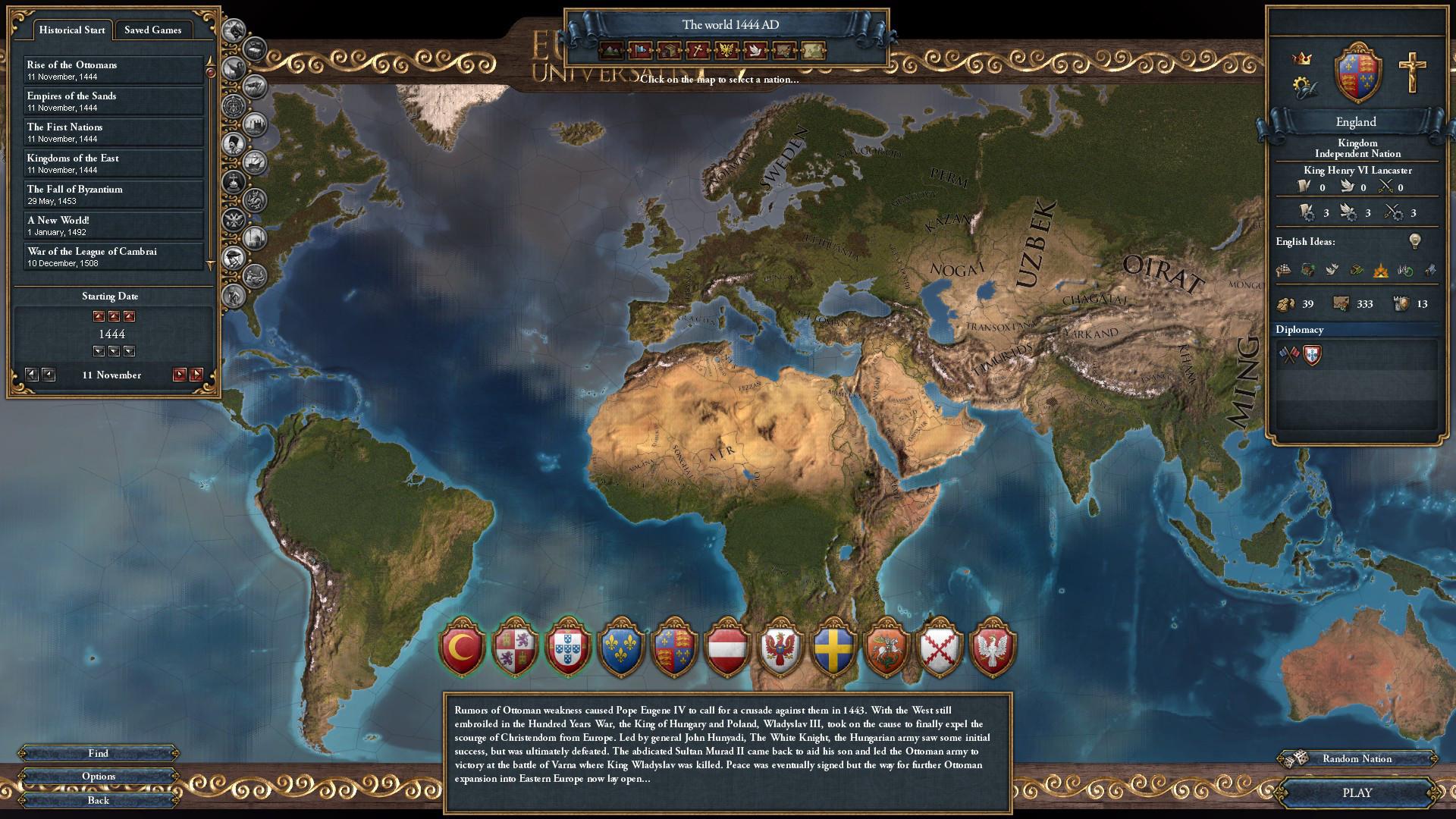 Скидка на Europa Universalis IV