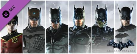 Batman: Arkham Origins - New Millennium Skins Pack