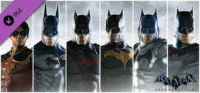 Batman: Arkham Origins - Infinite Earths Skins Pack cover art