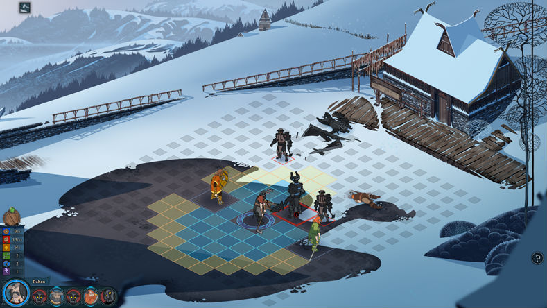 The Banner Saga screenshot 3