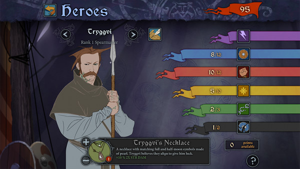 скриншот The Banner Saga 5