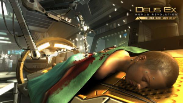 скриншот Deus Ex: Human Revolution 1