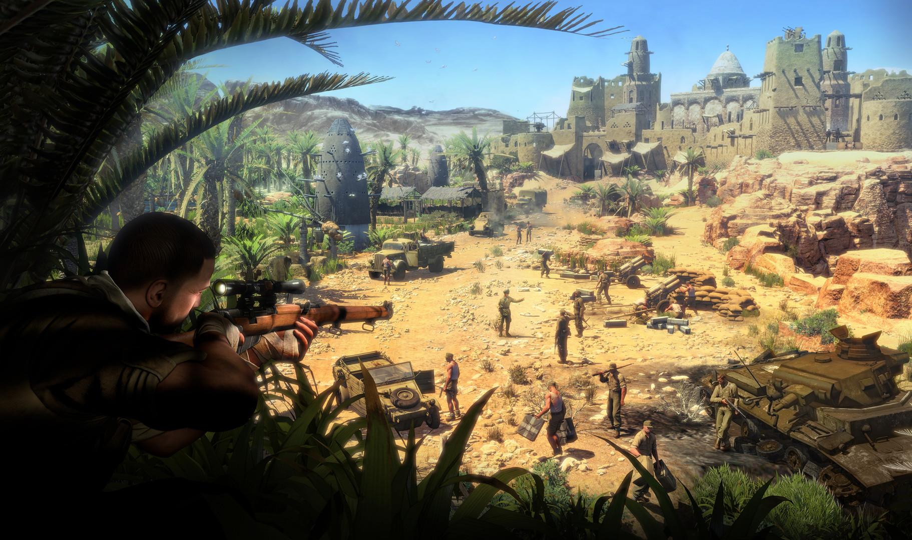 Sniper Elite 3 XBOX 360 ESPAÑOL Descargar (Region FREE) (XGD3) (COMPLEX) 3