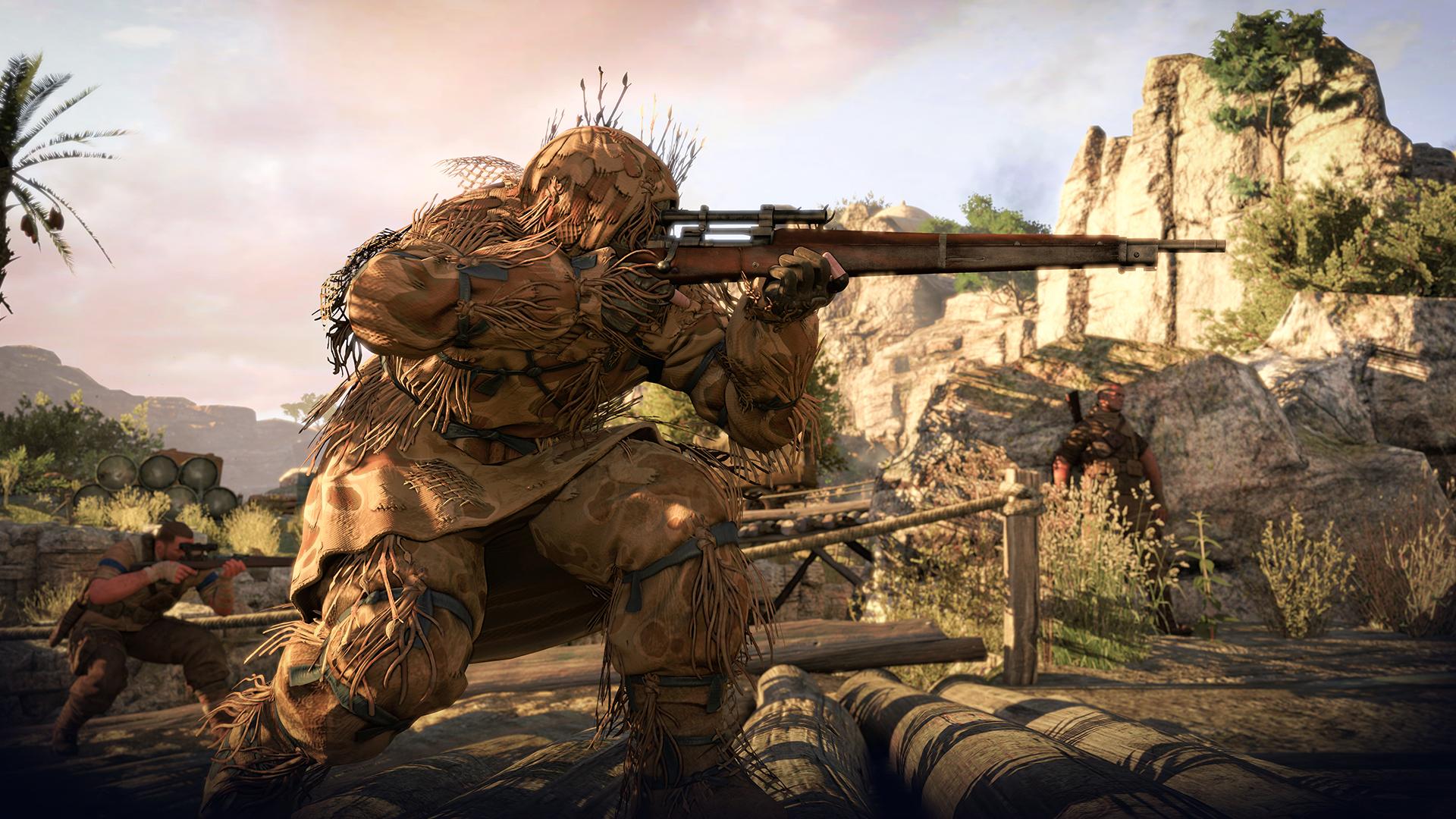 Sniper Elite 3 XBOX 360 ESPAÑOL Descargar (Region FREE) (XGD3) (COMPLEX) 4