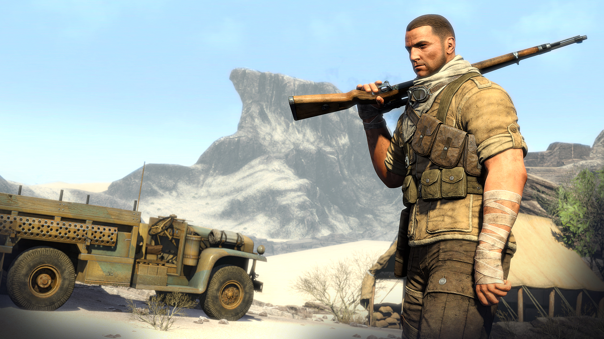 Sniper Elite 3 XBOX 360 ESPAÑOL Descargar (Region FREE) (XGD3) (COMPLEX) 13