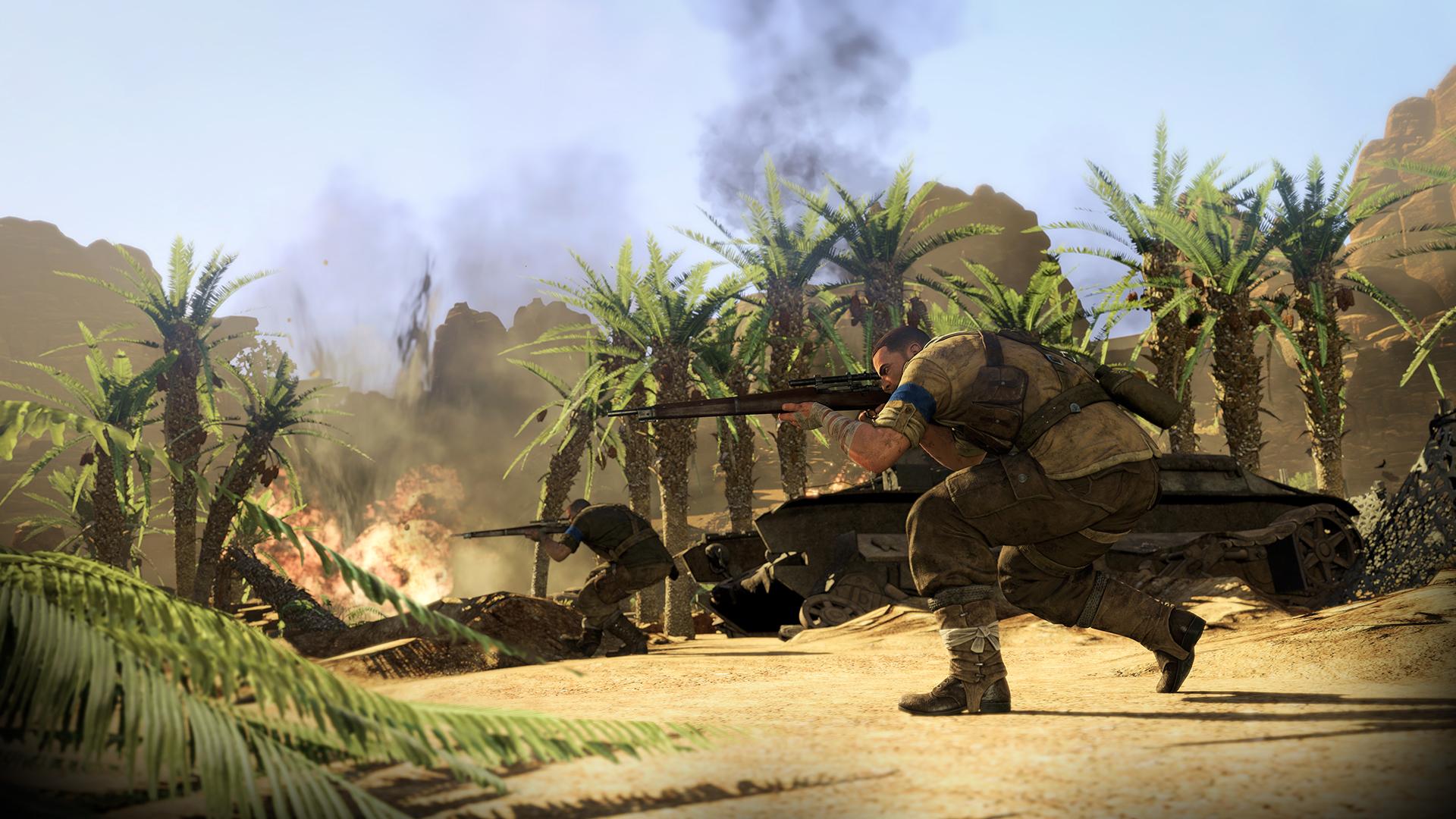 Sniper Elite 3 XBOX 360 ESPAÑOL Descargar (Region FREE) (XGD3) (COMPLEX) 8