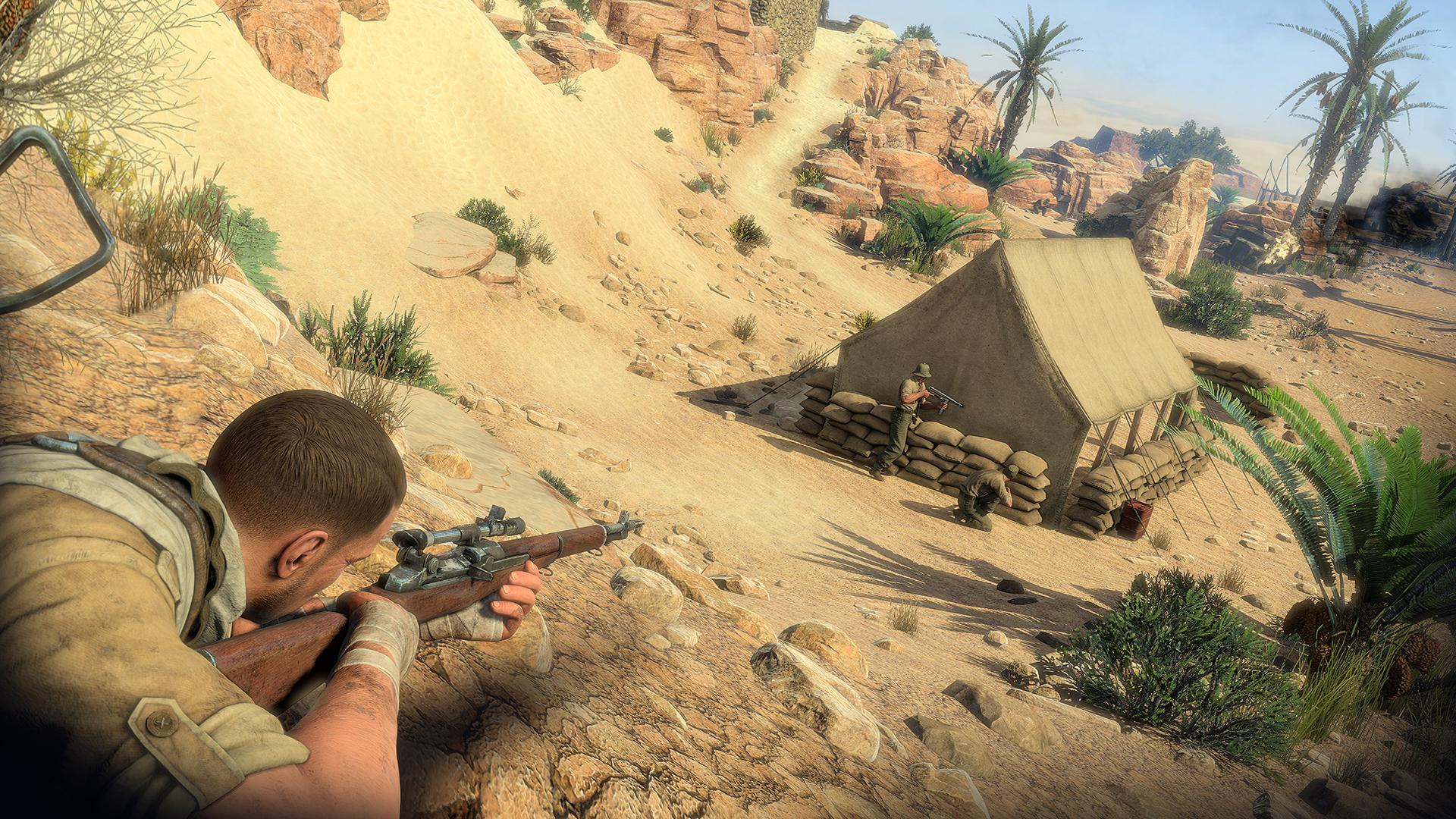 Sniper Elite 3 XBOX 360 ESPAÑOL Descargar (Region FREE) (XGD3) (COMPLEX) 12