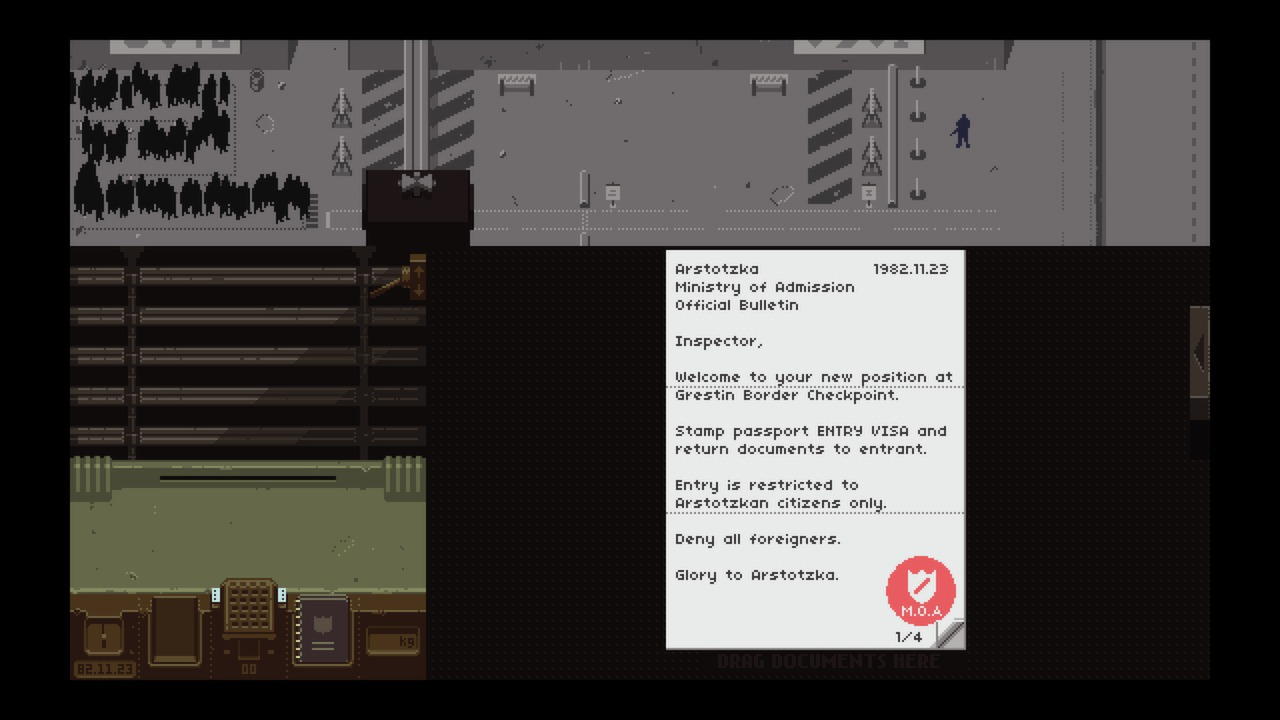 Papers, Please [GOG] (2013)