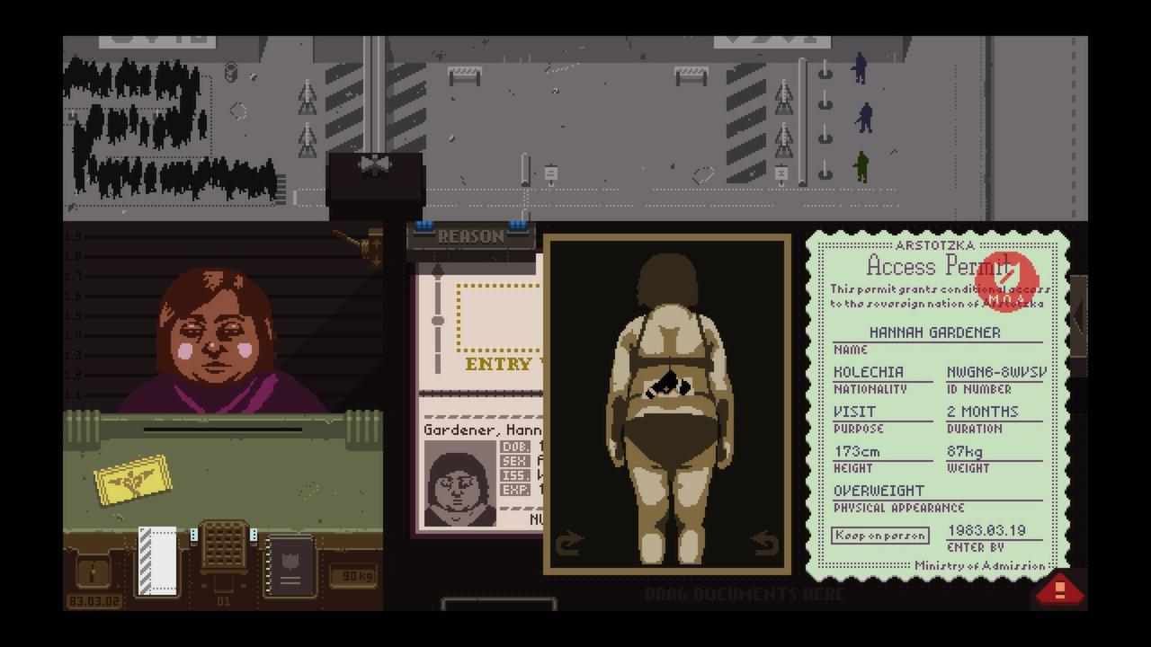 Papers, Please screenshot 3