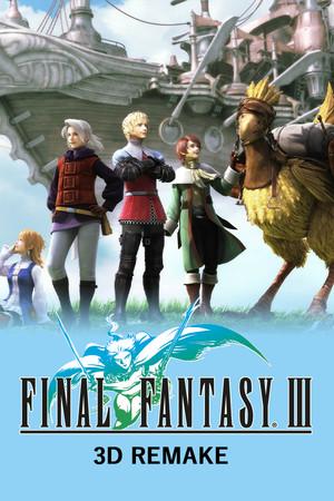 Final Fantasy III (3D Remake) poster image on Steam Backlog