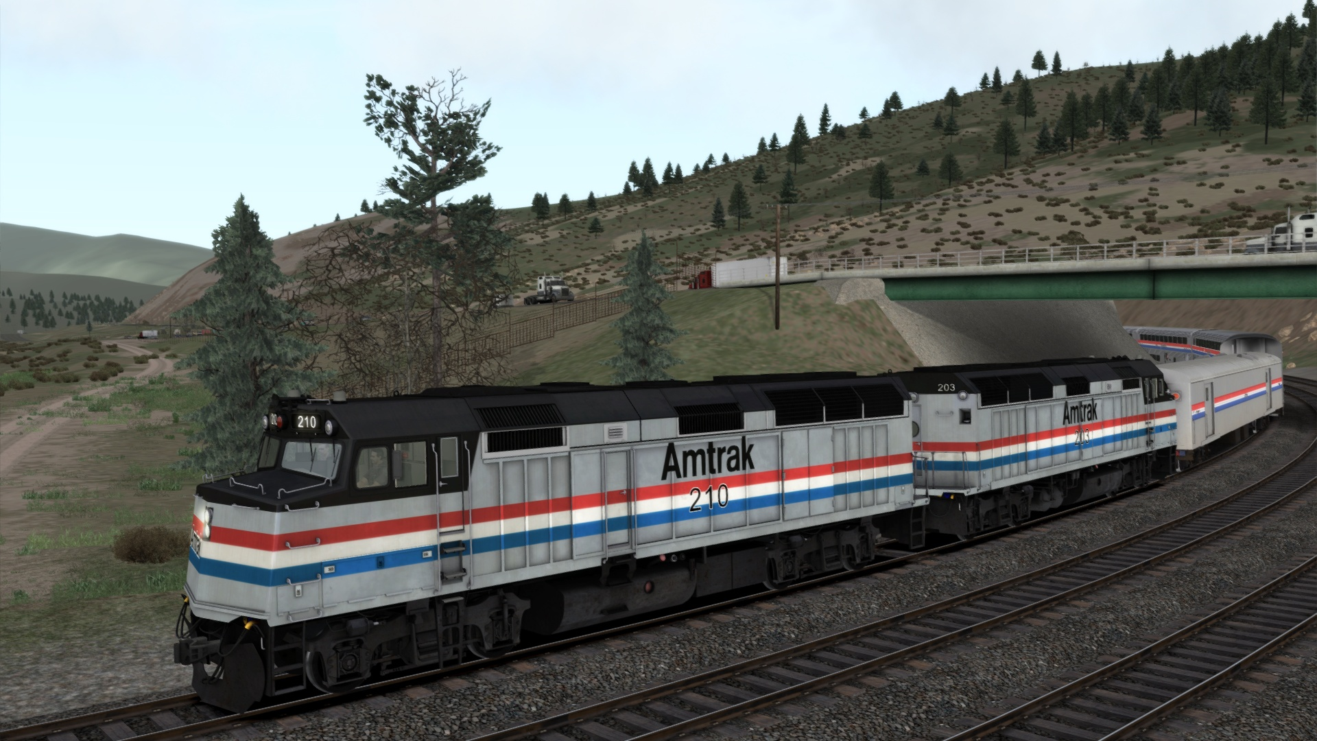 How to build in train simulator 2018