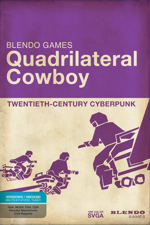 Quadrilateral Cowboy poster image on Steam Backlog