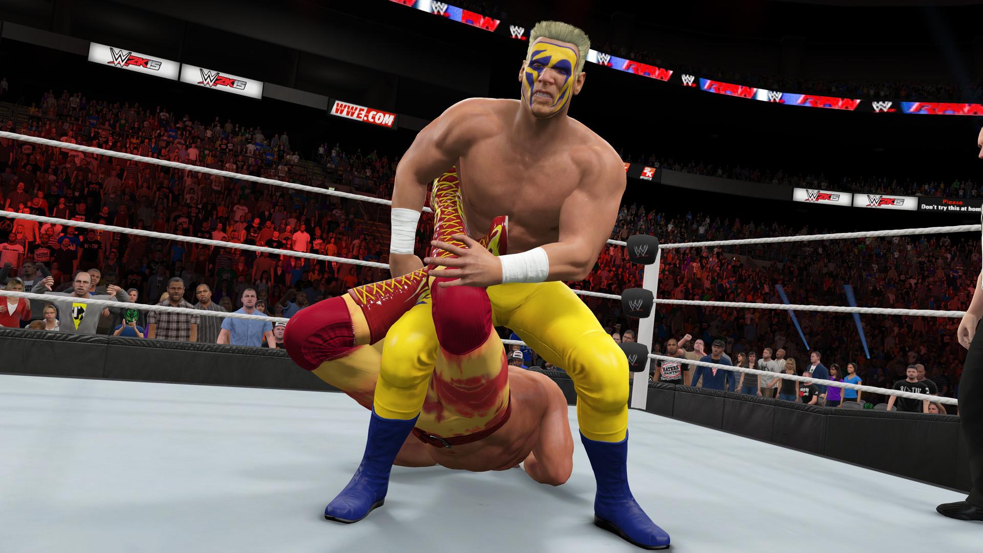 WWE 2K15 ESPAÑOL Full PC + DLC Pack Addon (RELOADED) + REPACK 5 DVD5 (JPW) 5