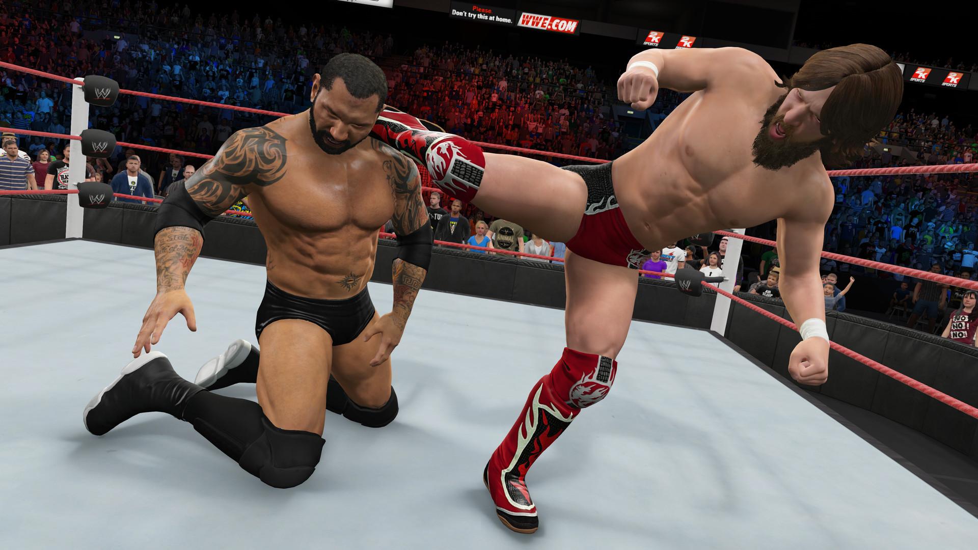 WWE 2K15 ESPAÑOL Full PC + DLC Pack Addon (RELOADED) + REPACK 5 DVD5 (JPW) 10