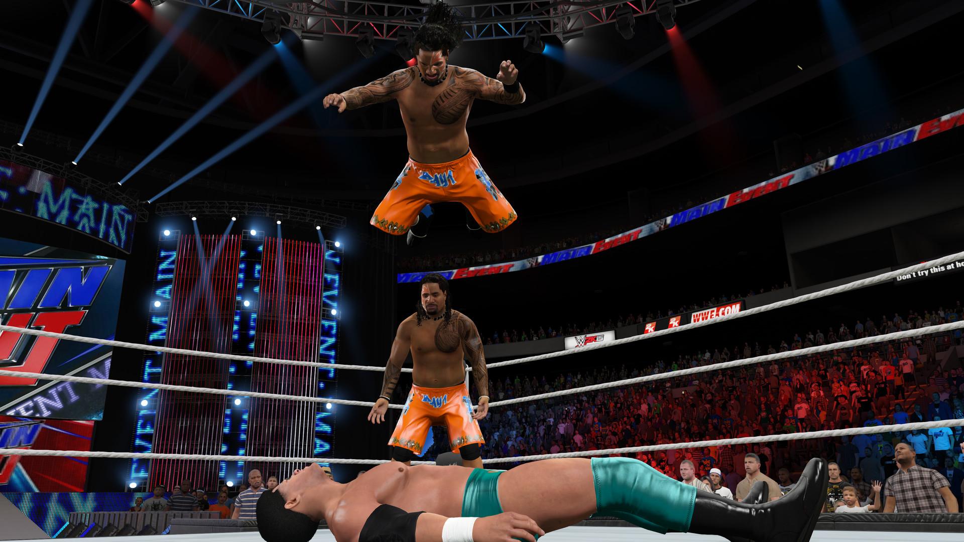 WWE 2K15 ESPAÑOL Full PC + DLC Pack Addon (RELOADED) + REPACK 5 DVD5 (JPW) 9