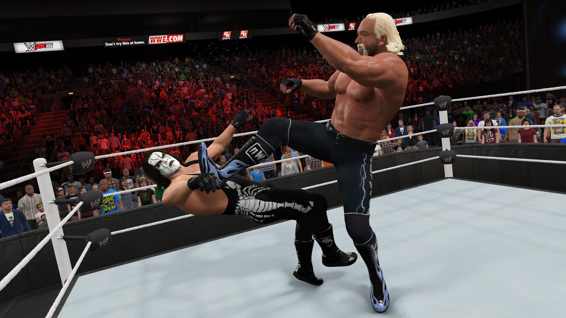 WWE 2K15 ESPAÑOL Full PC + DLC Pack Addon (RELOADED) + REPACK 5 DVD5 (JPW) 4