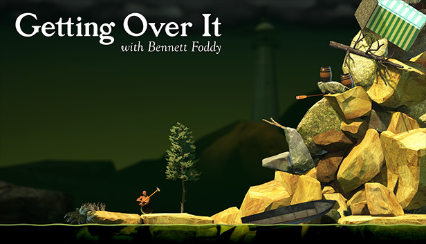 Getting Over It With Bennett Foddy On Steam