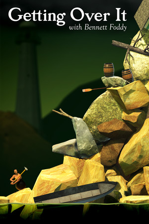 Getting Over It with Bennett Foddy poster image on Steam Backlog