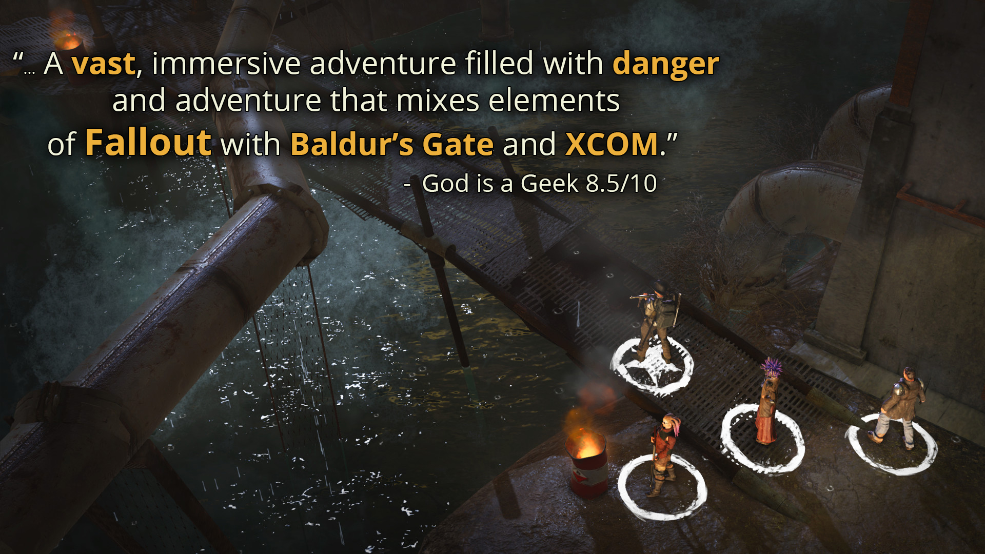 Wasteland 2 Director's Cut - Digital Classic Edition screenshot 2