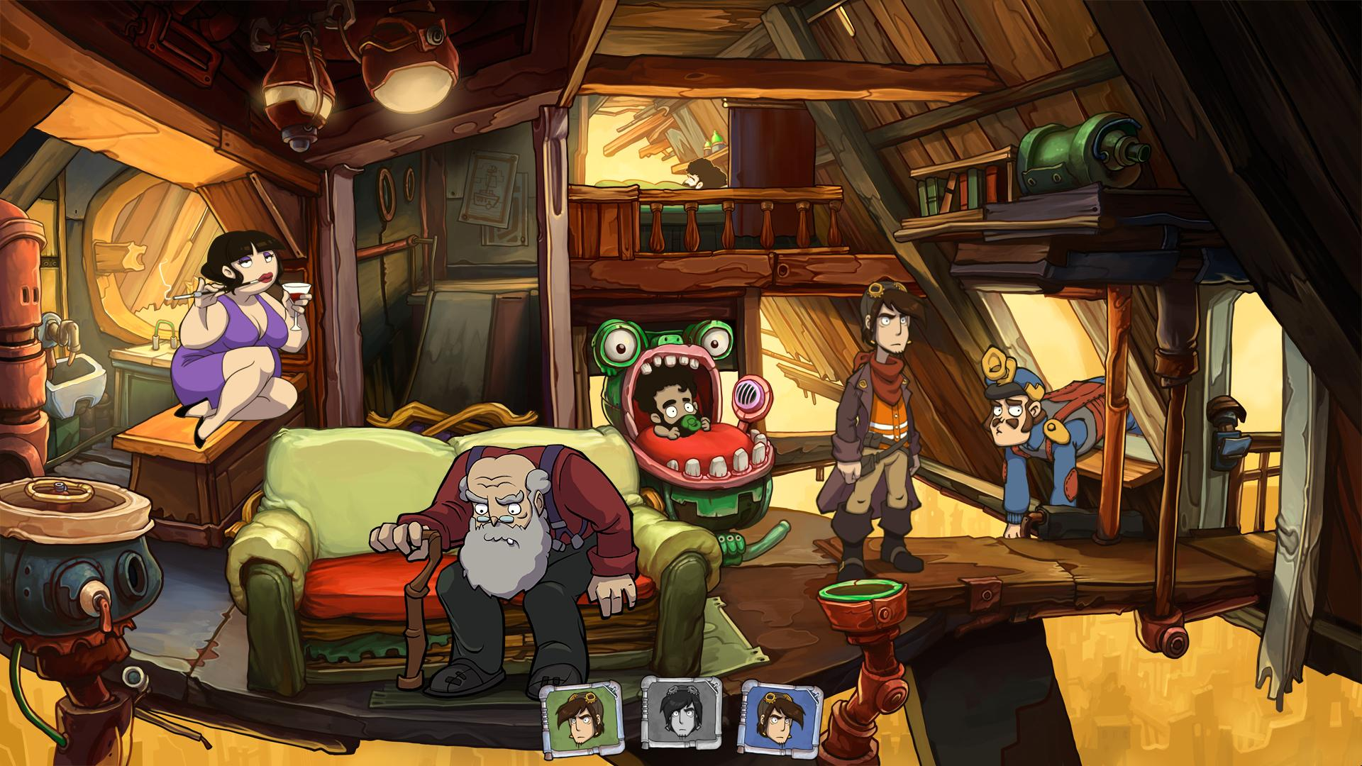 Save 90 On Goodbye Deponia On Steam